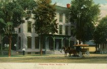 Image of Harpending House, Dundee, N.Y. - Postcard