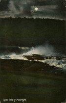 Image of Spier Falls by Moonlight. - Postcard