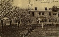 Image of Easterly View, Pythian Home, Ogdensburg, N.Y. - Postcard