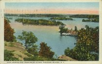 Image of View Looking East from Smoke Island, Thousand Islands, N.Y. - Postcard