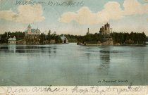 Image of In the Thousand Islands. - Postcard
