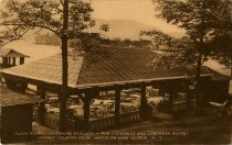 Image of Glass-Roofed Lakeshore Pavilion - for Cocktails and Luncheon-Buffet