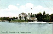 Image of Thousand Islands, N.Y., James Oliphant's Residence- Neh-Mahdin [sic] - Postcard