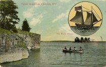 Image of Valcour Island, Lake Champlain, N.Y. The Royal Savage. - Postcard