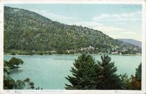 Image of Heart Bay, Lake George, N.Y., from Roger's Rock Hotel. - Postcard
