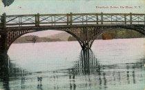 Image of Kingsford Bridge, Big Moose, N.Y. - Postcard