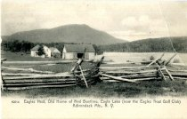 Image of Eagles Nest, Old Home of Ned Buntline, Eagle Lake (now Eagles Nest Golf Club) Adirondack Mts., N.Y. - Postcard