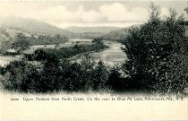 Image of Upper Hudson from North Creek, On the Road to Blue Mt. Lake, Adirondack Mts., N.Y. - Postcard