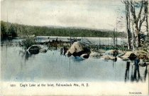 Image of Eagle Lake at the Inlet, Adirondack Mts., N.Y. - Postcard