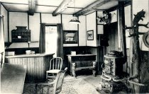 Image of Early Hotel Lobby - Postcard