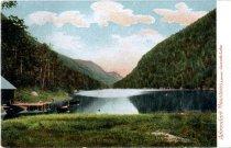 Image of Adirondack Mountains, Lower Cascade Lake - Postcard