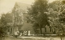 Image of Cottage Hotel Star Lake - Print, Real Photo Postcard