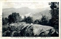 Image of View Looking South from Armstrong's Mtn., Riverside, N.Y. - Postcard