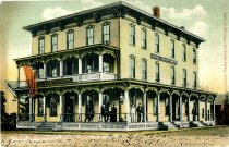 Image of Hotel Mongomery, Rouses Point, N.Y. - Postcard