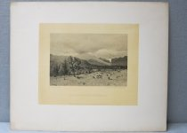 "Image of Indian Pass from ""Scotts"". - Collotype"