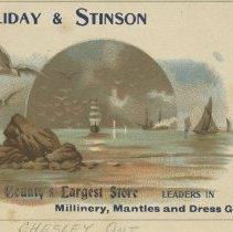Image of A998.023.016 - Halliday & Stinson advertising card