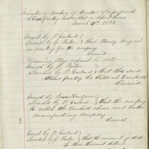 Image of Sample page from Dunkeld Cheese and Butter Manufacturing Co. record book, p