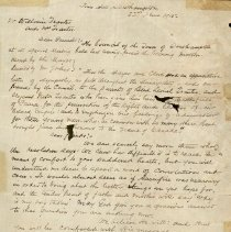 Image of Sympathy Letter from Southampton to William and Annie Tranter 1915