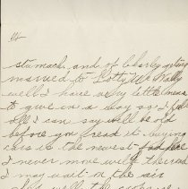 Image of Hector McLean Leter to Ernest Cunningham, p. 3