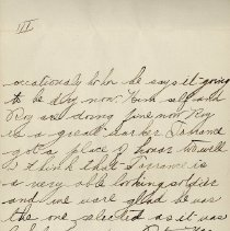 Image of Hector McLean Leter to Ernest Cunningham, p. 4