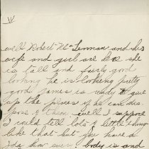 Image of Hector McLean Leter to Ernest Cunningham, p. 5