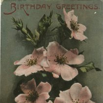 Image of Birthday Postcard to Charlie, Mildmay, from Harvey