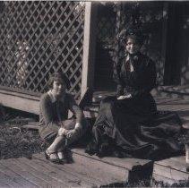 Image of Elizabeth Audrey Hillmer in grandmother's dress