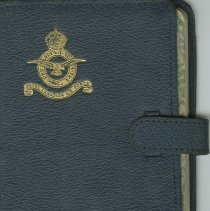 Image of A2013.028.004 - The Royal Air Force and Dominion Air Forces diary 1944, F/O R.G. Freeman