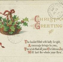Image of A2005.015.003 - Christmas greetings