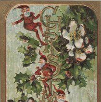 Image of Christmas for Auld Lang Syne, postcard front