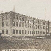 Image of A2005.015.049 - Manufacturing Plant, Port Elgin, Ont. [Stevens-Hepner Company]
