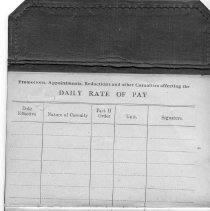 Image of A976.007.004 P05 - Edgar Teahan Canadian Pay Book 113403