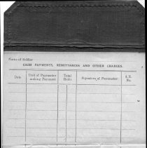 Image of A976.007.004 P07 - Edgar Teahan Canadian Pay Book 113403