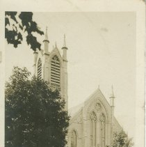Image of Presbyterian CH., Lucknow, Ont., postcard front