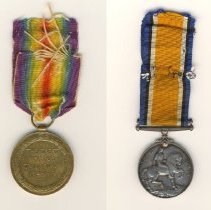 Image of 985.023.001a/b - Medal, Military