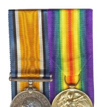 Image of 995.022.013a/b - Medal, Military