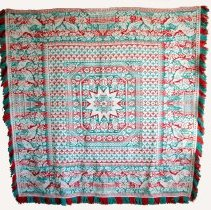 Image of 2015.030.001 - Coverlet