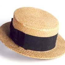 Image of 965.072.008 - Hat, Straw