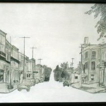 Image of A2015.122.001 - Clinton Street, 1949, looking north [Teeswater]