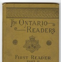 Image of The Ontario Readers First Reader Part II, cover