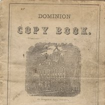 Image of 1877 Measure Book of Joseph Jones, front cover
