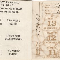 Image of Pages 4-5, Ration Book 1, Thomas Blair