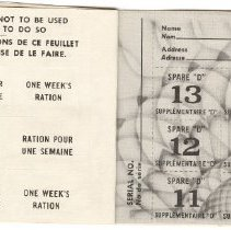 Image of Page 6, Ration Book 1, Thomas Blair