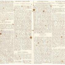 Image of Press notices re: Major Crozier