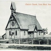 Image of A996.016.002 (186) - Christ's Church, Lion's Head, Ont. [Christ Church]