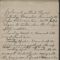 Image of James Rowand Burgess Mar 30 - Apr 10 1918 diary entries