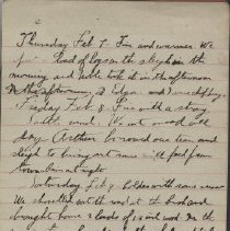 Image of James Rowand Burgess Feb 7 - Feb 15 1918 diary entries