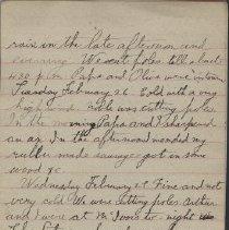 Image of James Rowand Burgess Feb 26 - Mar 5 1918 diary entries