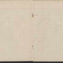 Image of Olive Burgess diary, blank pages - No Entries For Apr 2-26