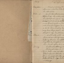 Image of Olive Burgess diary, Jan 1-4 1924